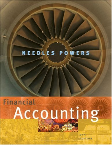 Financial Accounting  9th 2007 edition cover