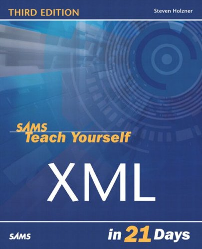 Sams Teach Yourself XML in 21 Days  3rd 2004 (Revised) edition cover