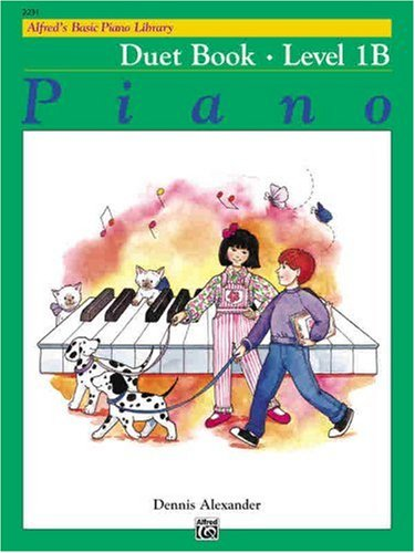 Alfred's Basic Piano Course - Duet Book, Level 1B   1986 edition cover