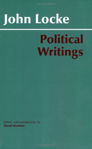 Political Writings John Locke  2003 (Reprint) 9780872206762 Front Cover