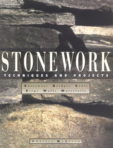 Stonework Techniques and Projects  1997 9780882669762 Front Cover