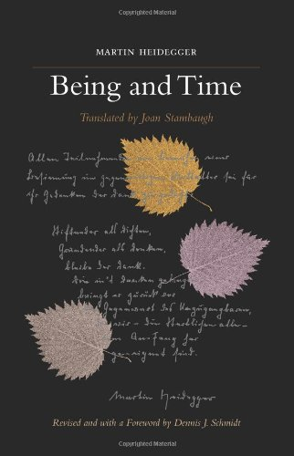 Being and Time A Revised Edition of the Stambaugh Translation  2010 (Revised) edition cover