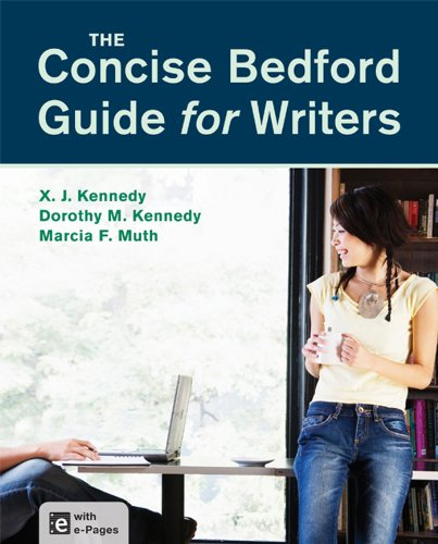 Concise Bedford Guide for Writers   2014 edition cover