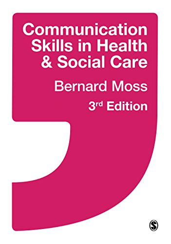 Communication Skills in Health and Social Care  3rd 2015 edition cover