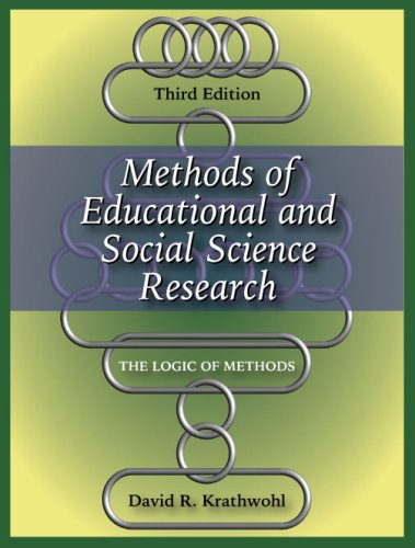 Methods of Educational and Social Science Research The Logic of Methods 3rd 2009 edition cover
