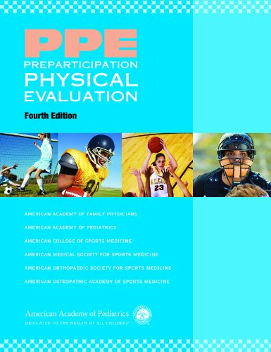 PPE - Preparticipation Physical Evaluation  4th 2010 edition cover