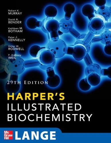 Harpers Illustrated Biochemistry  29th 2012 edition cover