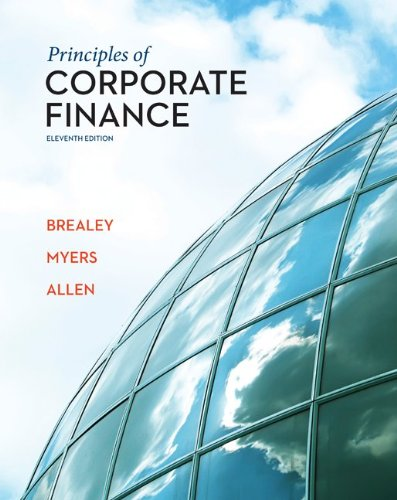 Principles of Corporate Finance  11th 2014 9780078034763 Front Cover