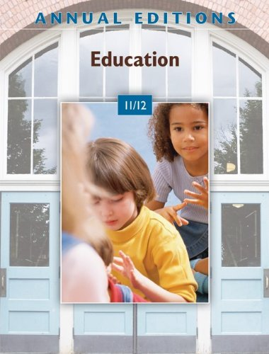 Education 11/12  38th 2011 edition cover