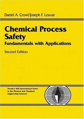 Chemical Process Safety Fundamentals with Applications 2nd 2002 (Revised) edition cover