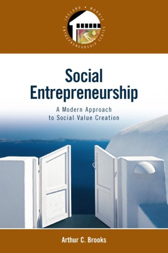 Social Entrepreneurship A Modern Approach to Social Value Creation  2009 9780132330763 Front Cover