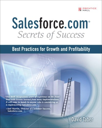 Salesforce. com Secrets of Success Best Practices for Growth and Profitability  2009 9780137140763 Front Cover