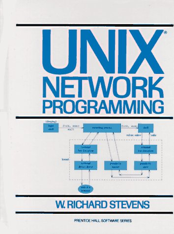 UNIX Network Programming  1st 1990 9780139498763 Front Cover