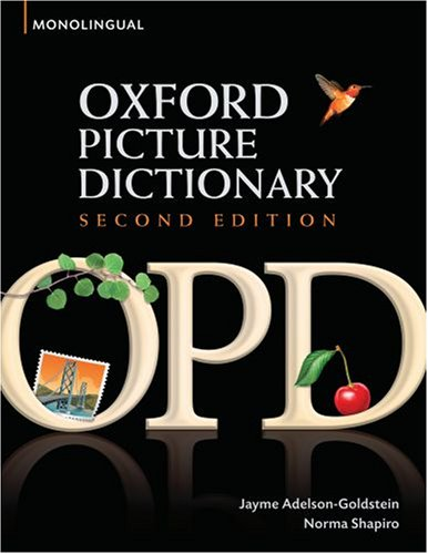 Oxford Picture Dictionary  2nd 2008 edition cover