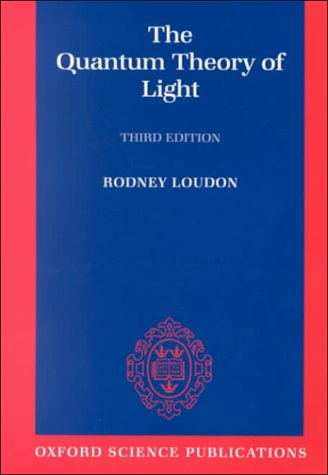 Quantum Theory of Light  3rd 2000 (Revised) edition cover