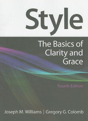 Style The Basics of Clarity and Grace 4th 2011 edition cover
