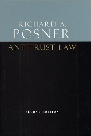 Antitrust Law  2nd 2001 edition cover