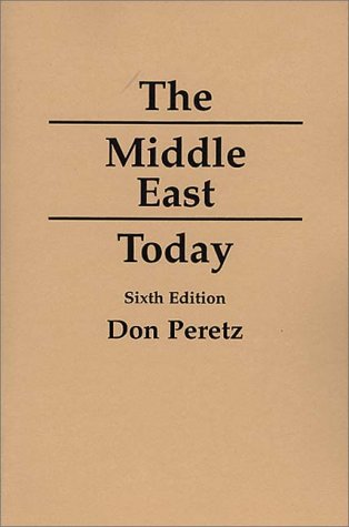 Middle East Today  6th 1994 (Revised) edition cover