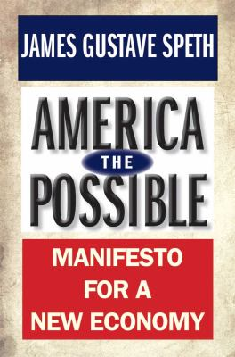 America the Possible Manifesto for a New Economy  2012 edition cover