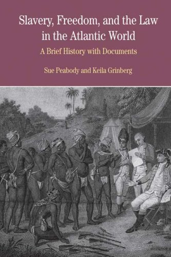Slavery, Freedom, and the Law in the Atlantic World A Brief History with Documents  2007 edition cover