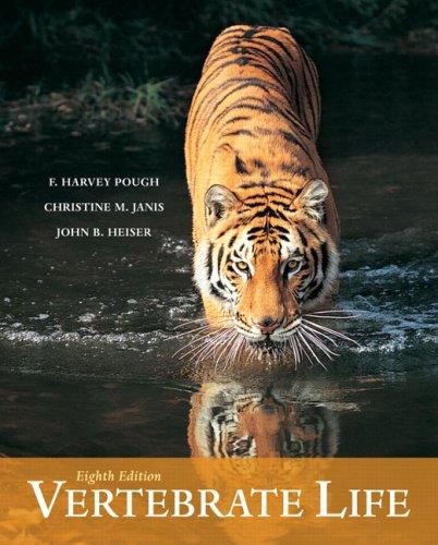 Vertebrate Life  8th 2009 edition cover