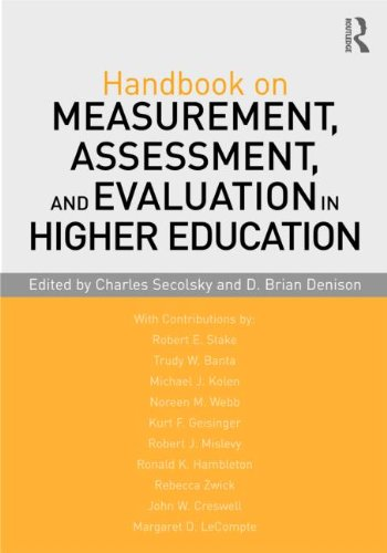 Handbook on Measurement, Assessment, and Evaluation in Higher Education   2012 edition cover