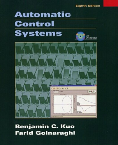 Automatic Control Systems  8th 2003 (Revised) edition cover