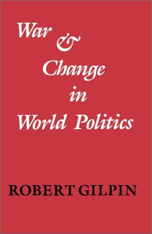 War and Change in World Politics   1983 edition cover