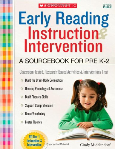 Early Reading Instruction and Intervention: a Sourcebook for PreK-2  N/A edition cover