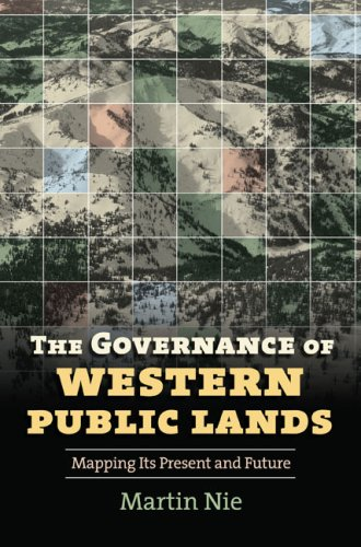 Governance of Western Public Lands Mapping Its Present and Future  2008 edition cover