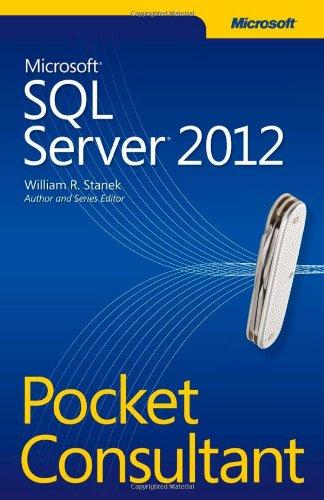 Microsoft� SQL Server� 2012   2012 edition cover