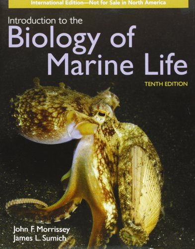Intro to Biology of Marine Life 10E International Ed 10th 2011 (Revised) 9780763792763 Front Cover