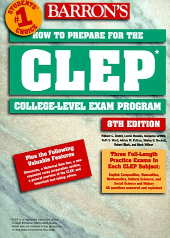How to Prepare for the CLEP - College Level Exam Program 8th 1999 (Revised) 9780764104763 Front Cover