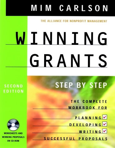 Winning Grants  2nd 2002 (Revised) edition cover