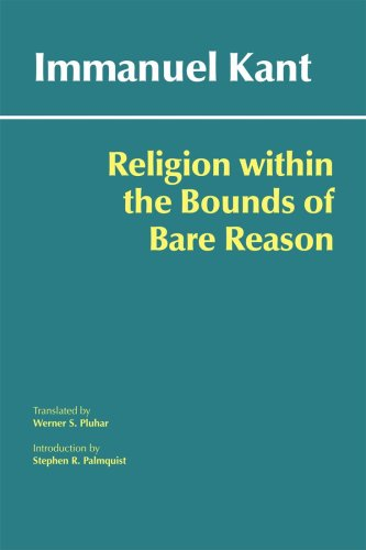 Religion Within the Bounds of Bare Reason   2009 edition cover