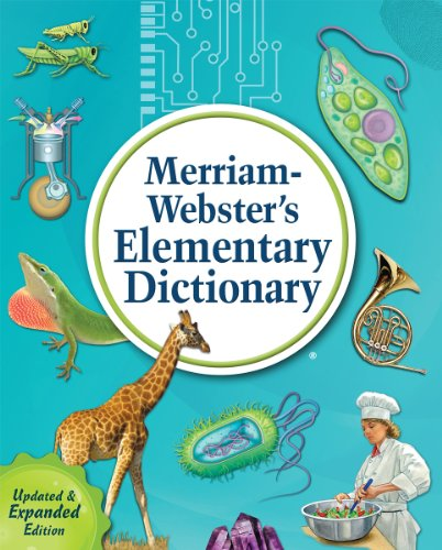 Merriam-Webster's Elementary Dictionary   2014 (Enlarged) edition cover