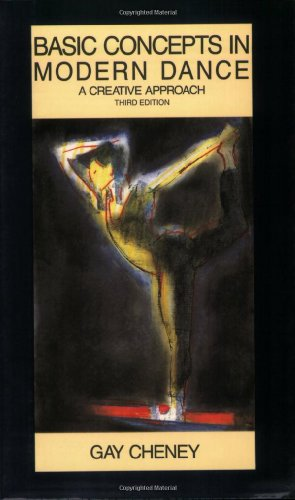 Basic Concepts in Modern Dance A Creative Approach 3rd edition cover