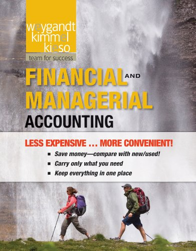 Financial and Managerial Binder Ready Version with WileyPlus  N/A 9781118131763 Front Cover