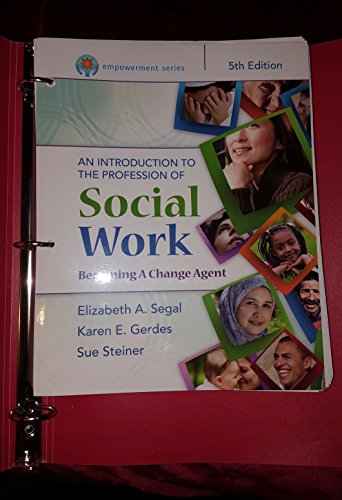 Empowerment Series: an Introduction to the Profession of Social Work  5th 2016 9781305663763 Front Cover