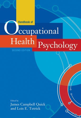 Handbook of Occupational Health Psychology  2nd 2011 edition cover