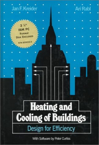 Mechanical System Design for Buildings Design for Efficiency  1994 9780078347764 Front Cover