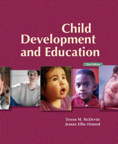 Child Development and Education with Observing Children and Adolescents CD Pkg  3rd 2007 9780132432764 Front Cover