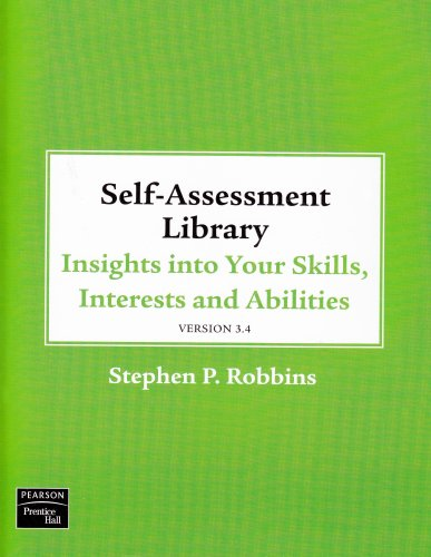 Self Assessment Library 3. 4   2009 edition cover