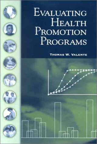 Evaluating Health Promotion Programs   2002 edition cover