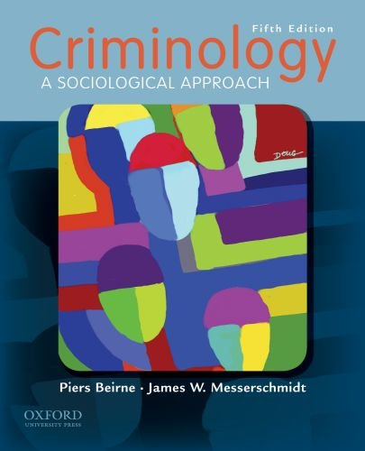 Criminology A Sociological Approach 5th 2010 edition cover