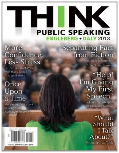 THINK Public Speaking   2013 edition cover