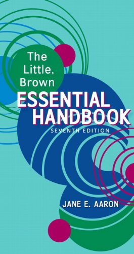Little, Brown Essential Handbook  7th 2011 edition cover