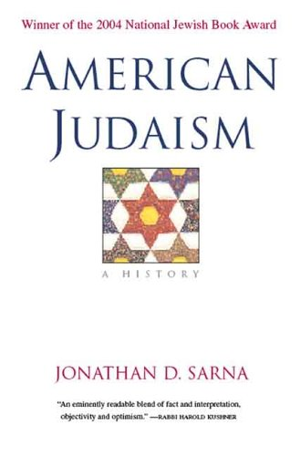 American Judaism A History  2005 edition cover