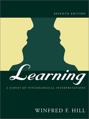 Learning A Survey of Psychological Interpretations 7th 2002 (Revised) edition cover
