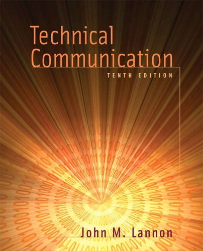 Technical Communication  10th 2006 edition cover